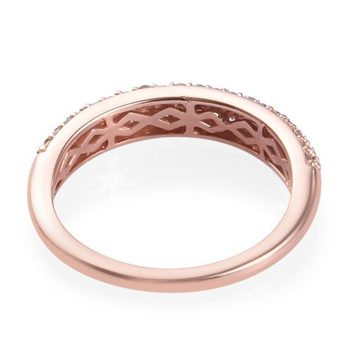 Exclusive Edition 9K Rose Gold Natural Pink Diamond (Rnd) Ring 0.50 Ct.