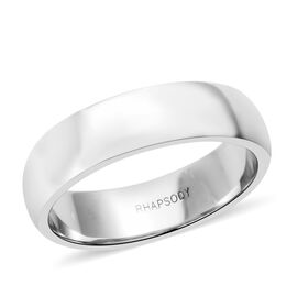 RHAPSODY 950 Platinum Band Ring, Platinum wt 7.30 Gms.