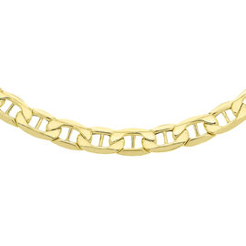 Italian Made 9K Y Gold Rambo Necklace (Size 18), Gold wt 7.60 Gms.