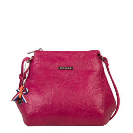Bulaggi Collection - Sabrina Crossover Bag (Size 20x21x13 Cm) - Fuchsia