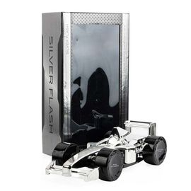 Silver Flash: F1 Silver Car (4 Wheels) - 100ml