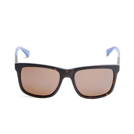 GUESS Square Unisex Sunglasses - Brown