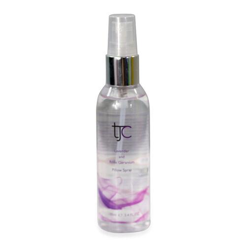 TJC Lavender and Rose Geranium Pillow Spray 100ml