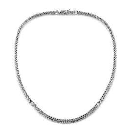 Royal Bali Collection Sterling Silver Tulang Naga Necklace (Size 20), Silver wt 57.00 Gms.