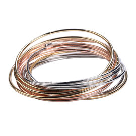 One Time Deal-Tricolour Bangle (Size 7.5)