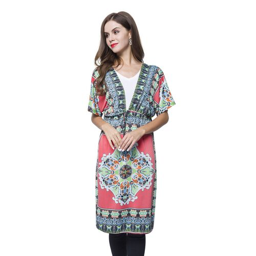 Pink, Blue and Multi Colour Printed Apparel (Size 90X62 - Free Size) with Adjustable Waistband