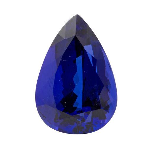 Vivid Eye Clean AAAAAA Tanzanite Pear 29.32x22.44  67.30 Ct.