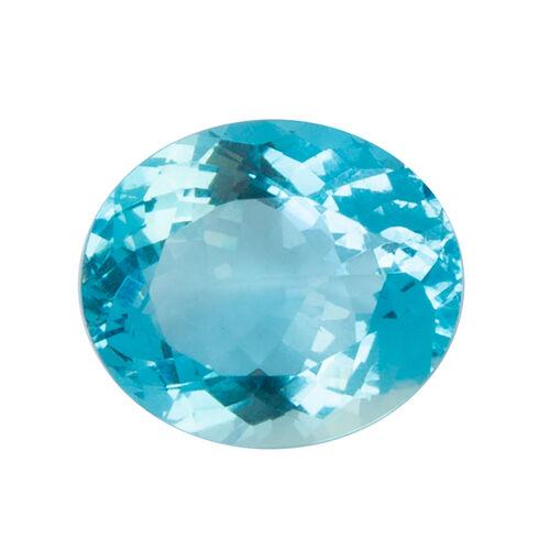 9 Carat AAAA Oval Aquamarine Size 15x13mm
