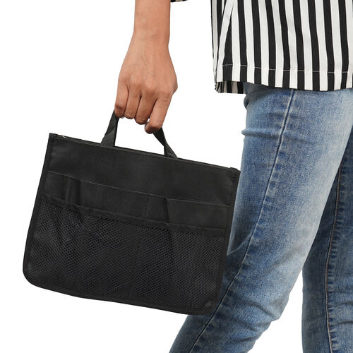 100% Waterproof Organiser Bag (Size 29x9x20cm) - Black