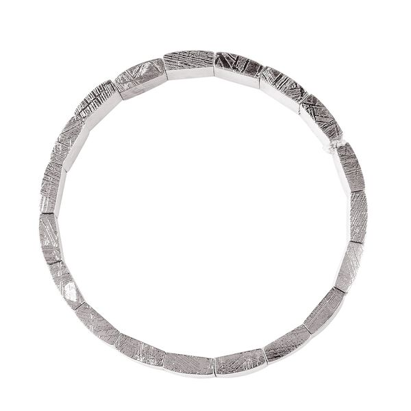 Tucson Special - Meteorite (Bgt) Stretchable Bracelet (Size 6.75 to 9) 212.51 Ct.
