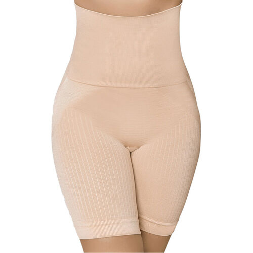 SANKOM SWITZERLAND Patent Cooling Effect fibers Posture Correction Shapers Shorts - Beige (Size L/XL, 12-18)