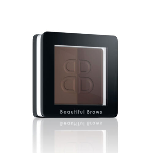 Beautiful Brows: Duo Brow Kit with Free Eyebrow Trimmer - Dark Brown/Chocolate