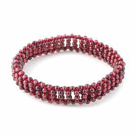 Rhodolite Garnet Bracelet (Size 7 Stretchable) 70.00 Ct.