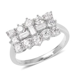 RHAPSODY 950 Platinum IGI Certified Diamond (Rnd) (VS/E-F) Ring 2.000 Ct.