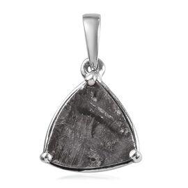 Meteorite (Trl) Pendant in Platinum Overlay Sterling Silver 6.25 Ct.