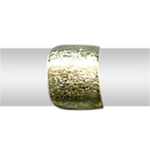 Vicenza Collection High Finish Band Ring in 9K Gold