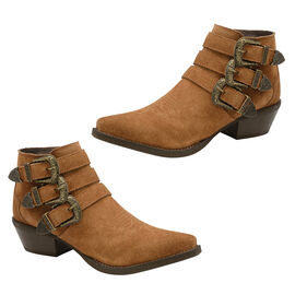 Ravel Tan Colville Suede Ankle Boots