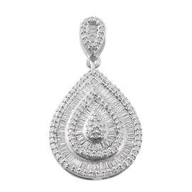 RHAPSODY 950 Platinum IGI Certified Diamond (E-F/VS) Pendant 1.00 Ct, Platinum wt 6.50 Gms.