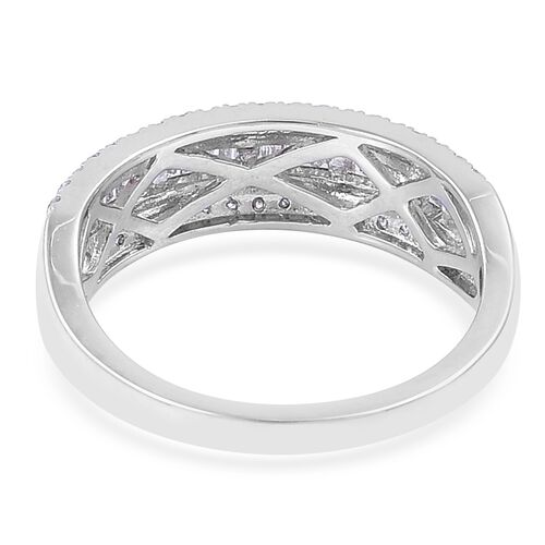 RHAPSODY 0.58 Ct IGI Certified Diamond (VS/E-F) Eternity Band Ring in 950 Platinum