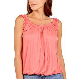 OTO - Nova of London Super Soft Balloon Vest in Coral (Size up to 18)