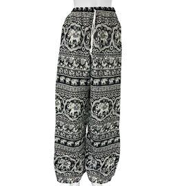 Elephant Pattern Black Colour Pyjama (Size 40)