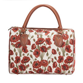 SIGNARE - Tapastry Collection - Poppy Travel Bag ( 31 x 30 x 13.5 Cms)