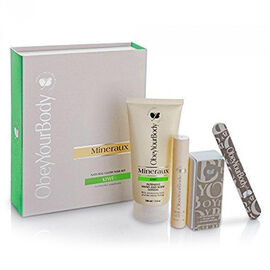 Set of 4 - Obey Your Body: Kiwi Manicure Nail Set (Incl. Nail & Cuticle Serum - 15ml, Intensive Hand