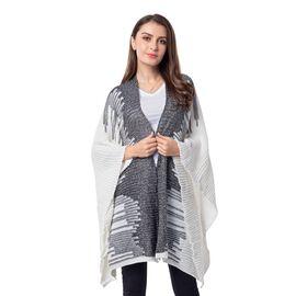 White Colour Kimono (Size 118x58.5 Cm)
