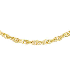 9K Yellow Gold Prince of Wales Chain (Size 16)