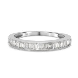 9K White Gold and WhiteSGL Certified Diamond (I3/G-H) Ring