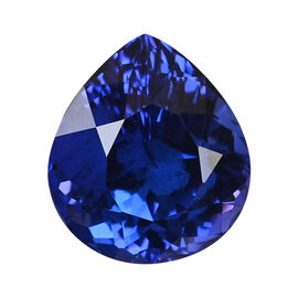 AAAA Tanzanite Pear 13.76X12.22X13.87 Faceted 9.40 Ct.