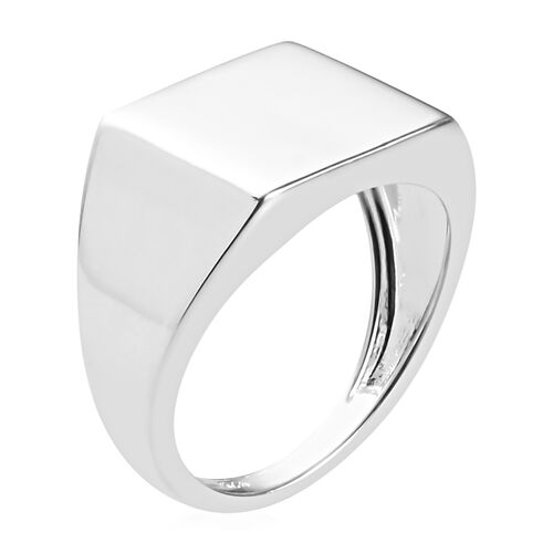 Close Out Deal- High Polished Sterling Silver Signet Ring