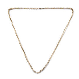 Royal Bali Collection Rolo Chain Necklace in 9K Gold 26 Inch