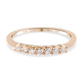 9K Yellow Gold  Moissanite Ring in Rhodium Overlay 0.25 ct,  Gold Wt. 1.59 Gms  0.250  Ct.