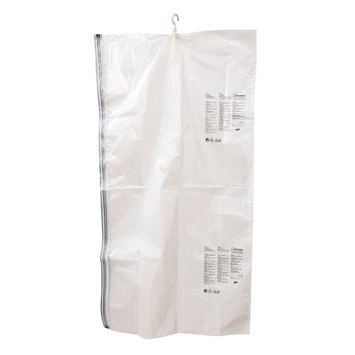 Set of 2 : Extra Large Heavy Duty Storage Solution - Hanging Vacuum Bag With Multiple Hanger Slots (Size 130x70x38 Cm)