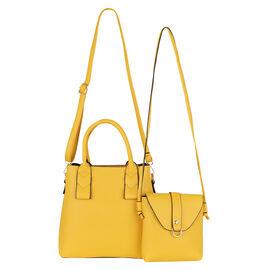 2 Piece Set - Kris Ana Crossbody Bag - Yellow