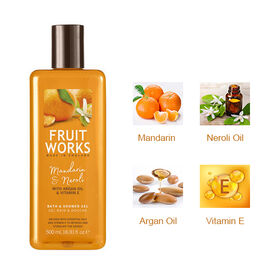 Mandarin & Neroli 500ml Bath & Shower Gel