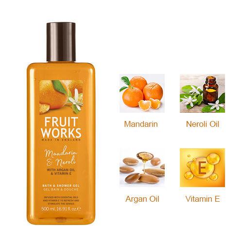 Mandarin & Neroli 500ml Bath & Shower Gel