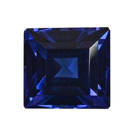 AAAA Tanzanite Princess 10.96X11.64X8.34 Faceted 9.05 Ct.