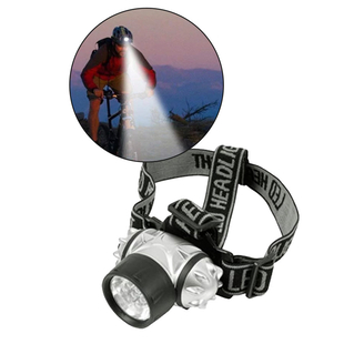 7 LED Head Light Torch With Pivoting Ball Head (AAA Battery not included)