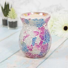 Lesser & Pavey - Mosaic Multi Glass Wax Melt & Oil Warmer (Size 14x7x9cm)