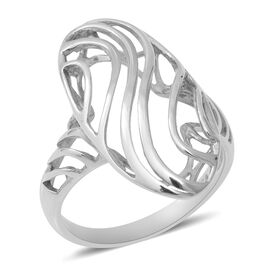 Sterling Silver Ring, Silver wt 3.80 Gms