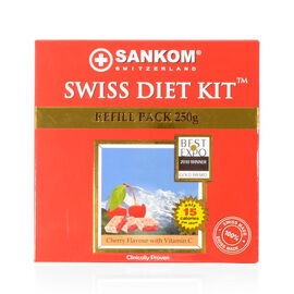 SWISS DIET KIT - 2 Weeks PACK  - 250G -Cherry Flavor