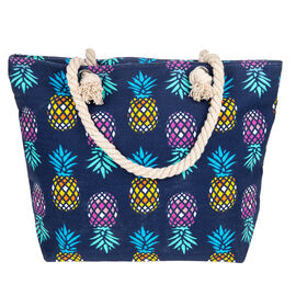 Colourful Pineapple Tote Bag