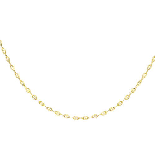9K Yellow Gold Mariner Link Chain (Size 24), Gold wt 2.80 Gms