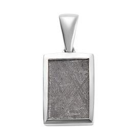 Meteorite (Bgt) Pendant in Platinum Overlay Sterling Silver 10.05 Ct.