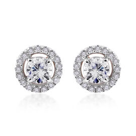 ILIANA 18K Yellow Gold IGI Certified Diamond (Rnd) (SI/G-H) Stud Earrings (with Screw Back) 0.50 Ct.