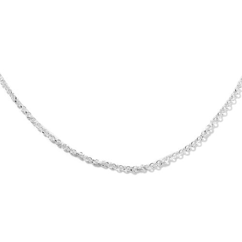 Thai Sterling Silver Chain (Size 17)