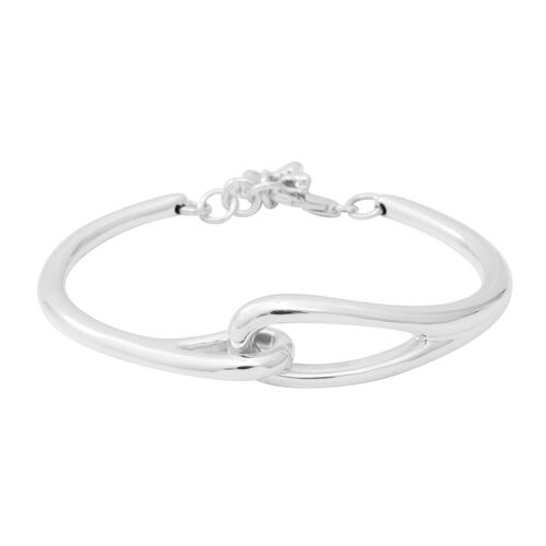 Close Out Deal Adjustable Bracelet with Lobster Clasp in Sterling Silver 6.5 with 0.5 inch Extender
