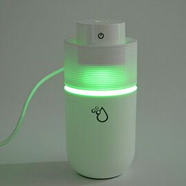 Multi Colour Changing LED Light Humidifier - White